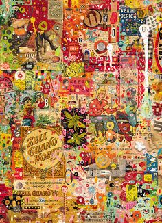 hyper collage detail by Colin~Johnson, via Flickr