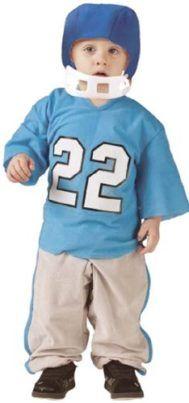Fun World Toddler Boys Football Player Kids Halloween Costume S