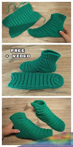 Knit One-Piece Stretchy Baby Booties Free Knitting Pattern + Video - Knitting Pa. Knit One-Piece Stretchy Baby Booties Free Knitting Pattern + Video – Knitting Pattern