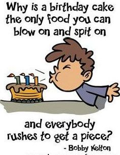 Funny happy birthday pictures, images, and pics. Have some fun with your friends on their birthday by giving them funny birthday pictures, wishes, and quotes Funny Birthday Cartoons, Funny Happy Birthday Pictures, Happy Birthday Funny, Happy Birthday Quotes, Happy Birthday Wishes, Birthday Cards, Birthday Greetings, Humor Birthday, Birthday Sayings