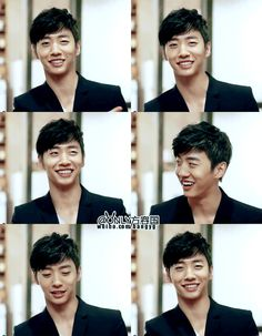 Bang Yong Guk!! Omg black hair <3