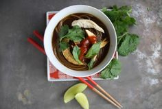 Chicken and Soba Noodle Soup by Heather Christo, via Flickr