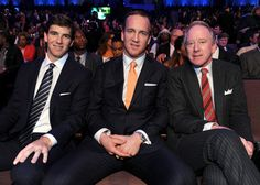 Eli, Peyton & Archie Manning at the 2nd Annual NFL Honors on Saturday, Feb. 2, 2013 in New Orleans