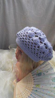 """Mütze """"Lila"""" von Kathrin´s Häkeleien auf DaWanda.com"""