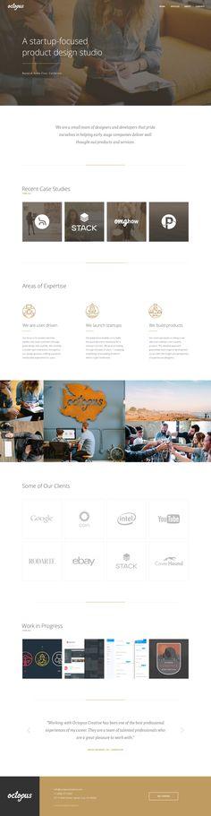 WIP: Octopus Refresh by James Hobbs ui design gui web design responsive
