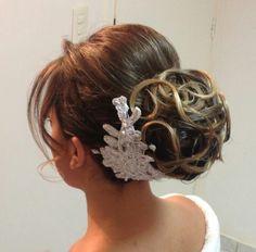Updo hair ,penteado de noiva