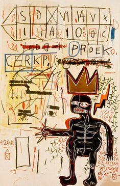 jean-michel basquiat artwork | jean-michel-basquiat-opening-at-gagosian-gallery-05