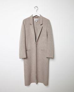 Acne Studios Foin Long Menswear Coat