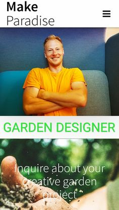 Inquire about your creative garden design project Garden Projects, Design Projects, Paradise Garden, Garden Design, Trust, Gardening, Creative, Nature, People