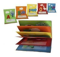 Utile, carino e creativo. E' un libretto fai da te per far apprendere le vocali al tuo bambino... giocando!