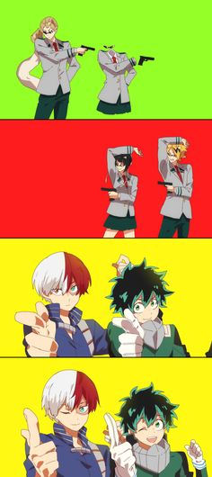 Boku no Hero Academia x Free! || #Anime (Cross-Over) Part1 || this is amazing