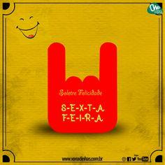 Soletre Felicidade! S-E-X-T-A F-E-I-R-A 👌👏👏 Ainda não baixou nosso mais novo CD? Já está disponível no Sua Música e Palco MP3. Baixe/Ouça/Compartilhem sem moderação! Sua Musica: http://www.suamusica.com.br/xonadinhas Palco Mp3: palcomp3.com/xonadinhas