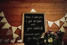 """love the use of """"framed quotes"""" as decor"""