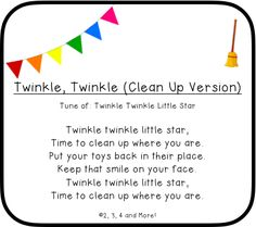 Clean Up Songs