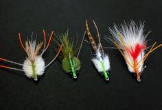 Saltwater Bonefish Crab Flies.