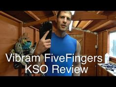 Vibram FiveFingers KSO EVO review - barefoot running shoe review - YouTube