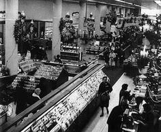 J.B. Ivey & Company, downtown Charlotte, North Carolina. View of main floor, 1966.