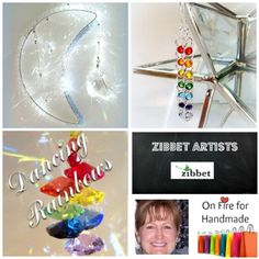Dancing Rainbows is this weeks Featured Artist here at On Fire for Handmade! Adrienne Wilson, the owner and designer, is an active member