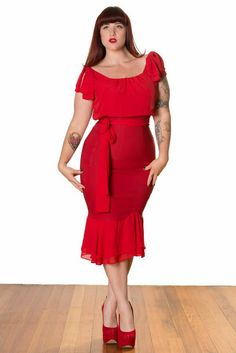 Curves to Kill.: Stop Staring! Stop Staring, Old Hollywood, What I Wore, Red Roses, Me Too Shoes, Your Photos, Plus Size Fashion, Peplum Dress, Curves