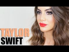 ▶ Maquiagem Taylor Swift (inspired)! - YouTube
