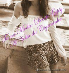 Vivy Duarte: Tá Na Moda: Decote Gipsy - A Volta da Ciganinha