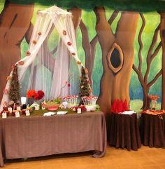 "Woodland Fairy & Gnomes 7th Birthday... like the ""mushroom ""marshmallow sticks"