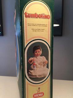 Muñecas Españolas Modernas: MUÑECA TUMBELINO TOTALMENTE NUEVA A ESTRENAR EN CAJA ORIGINAL. PERFECTO ESTADO - Foto 3 - 56837081 Spanish Modern, Baby Bottles, Infancy, The Originals, Toys, Crates, Pictures