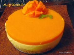 Eggless no bake Mango Cheese cake recipe/Mango cheesecake recipe/no bake mango cheesecake recipe/how to make eggless mango cheesecake
