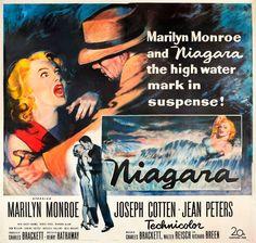 Niagara   US Six Sheet Movie Poster, 1953