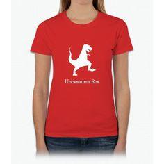 Men's Unclesaurus Rex T-Shirt Uncle 's Day T-Shirt Uncle Gift Womens T-Shirt