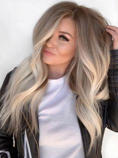 Ombre Beautiful Blends Of Balayage Ombre Hair Colors for. - , Beautiful Blends Of Balayage Ombre Hair Colors for. - Beautiful Blends Of Balayage Ombre Hair Colors for. Blond Ombre, Ombre Hair Color, Hair Color Balayage, Cool Hair Color, Fall Balayage, Hair Color For Fair Skin, Blonde Hair Dark Roots Balayage, Balayage Ombre Blonde, Long Hair Colors