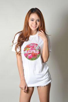 #Bastille #Shirt UK Indie #Rock Band Tee Teenager Women Fashion #Hipster #Tumblr T-Shirt