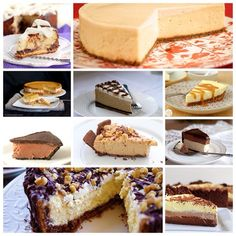 TOP 10 DELICIOUS CHEESECAKE RECIPES TO TRY: 1. Kahlua Cheesecake 2. Cinnamon Roll Cheesecake 3. Nutella Cheesecake 4. No Bake Peanut Butter Cheesecake 5. Chocolate Mousse Cheesecake 6. Pumpkin Cheesecake 7. Cookie Dough Cheesecake 8. Triple Chocolate Cheesecake 9. Salted Caramel Pretzel Cheesecake 10. Classic Cheesecake