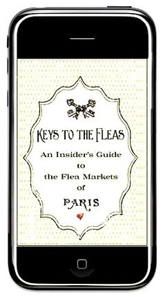 someday I will have a need for this.....    The Paris Apartment | Boutique.  An iphone app -- an insider's guide to the Paris flea markets  (sigh)