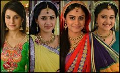 Pretty ladies of Balika Vadhu Hindus, Best Couple, Indian Beauty, Pretty Woman, Desi, Bollywood, Saree, Actresses, Couples