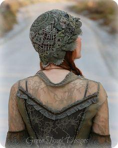 Mori Girl Cloche Hat by Green Trunk Designs