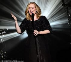 Hello...again! Adele continued her return to form with her second live performance - after a three year touring hiatus - at the NRJ Awards, in France, on Saturday night