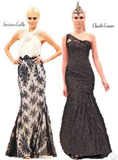 vestido de fiesta elegantes invierno 2013