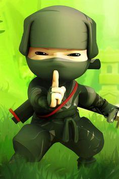 ninjas | Mini Ninjas Hiro | Simply beautiful iPhone wallpapers