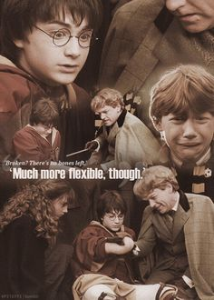 The time that Professor Lockhart removed all the bones in Harry's arm!