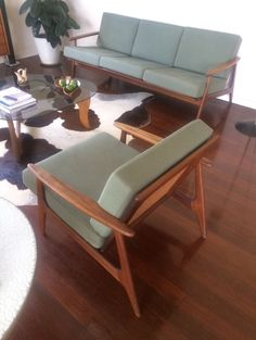 Mid Century Furniture, Rattan, Accent Chairs, Armchair, Lounge, Home Decor, Wicker, Upholstered Chairs, Sofa Chair
