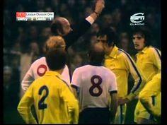 Derby v Leeds. or Francis Lee v Norman Hunter Norman Hunter, Derby County, Match Highlights, Leeds United, Christmas Trees, Arsenal, Bobby, The Unit, Memories