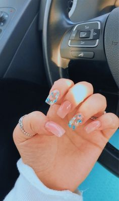 See more of alexaschwartz's content on VSCO. Acrylic Nails Coffin Short, Simple Acrylic Nails, Square Acrylic Nails, Best Acrylic Nails, Summer Acrylic Nails, Stylish Nails, Trendy Nails, Soft Nails, Gel Nails