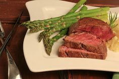 perfect for your next celebration....filet mignon with a red wine balsamic sauce~