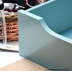 Diy, Furniture, Vintage, Dark Wood Furniture, Painted Drawers, Wood Types, Refurbished Furniture, Bricolage