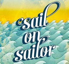 Sunny skies, aqua waves  Sailor