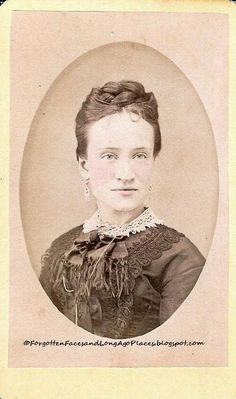 Forgotten Faces and Long Ago Places: Fashionable Friday - Early 1870's Glens Falls, NY Woman  http://forgottenfacesandlongagoplaces.blogspot.com/2012/10/fashionable-friday-early-1870s-glen.html