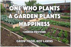 Gardening is happiness