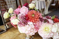 Erin and Paul's Wedding - Flower Vignette