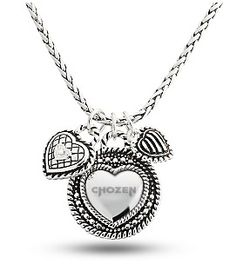 CHOZEN | CHOZEN HEART NECKLACE